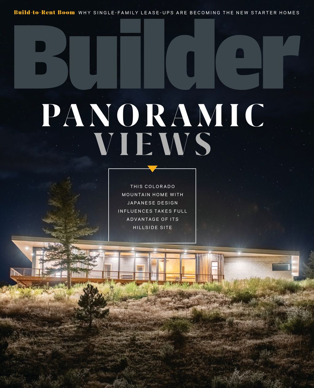 Builder Magazine January Feature Project