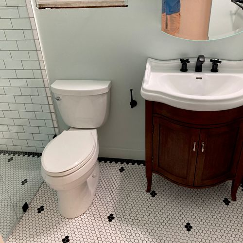 Curb less shower entry