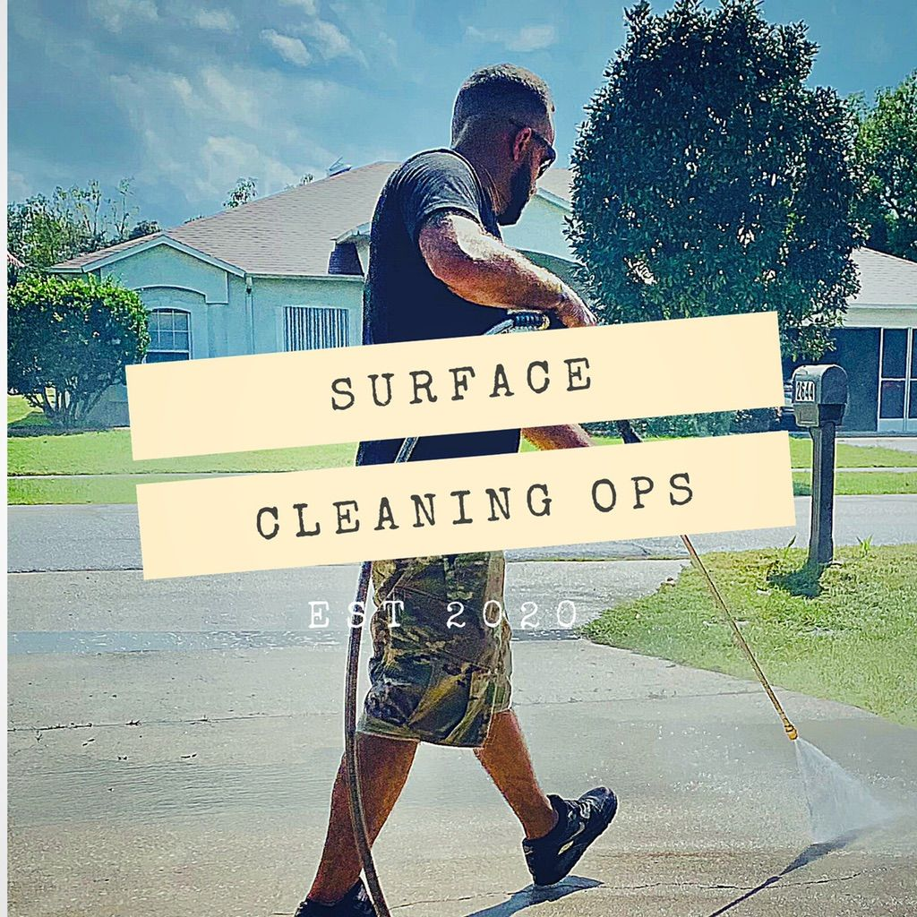 Surface cleaning ops