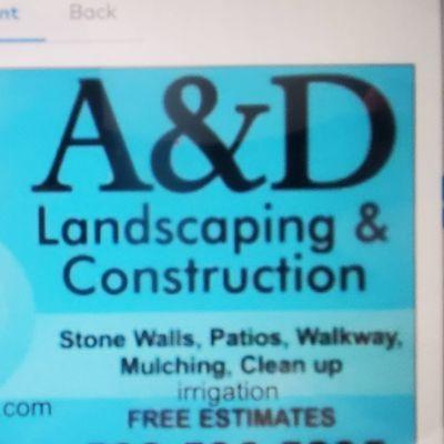 Avatar for A&D landscape construction
