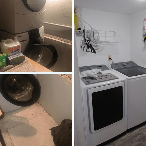 Laundry Room Refesh