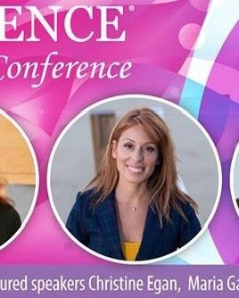 Sponsored Key Note Speaker at an Annual Women's Conference teaching women how to Make an Impact through Heart Driven Businesses