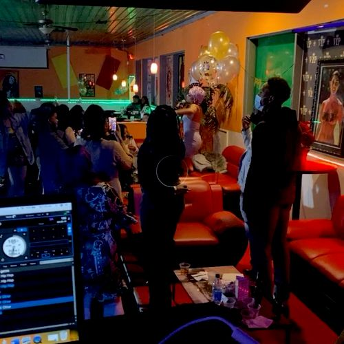 DJing for An Artist Birthday celebration/ performance