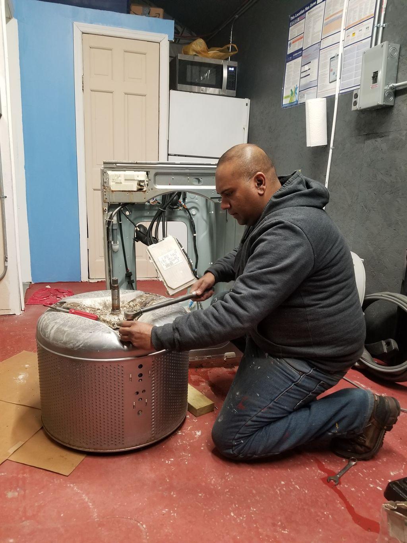 Rebuilding Washer Dryer Workshop