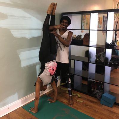 Avatar for Handstands & Arm Balances with Yogi Bear