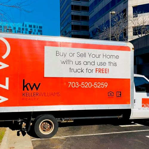 Buy or sell a home with me, and use this 16 ft truck for FREE