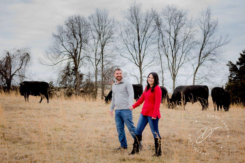 Engagement Session Farmington Cattle Ranch