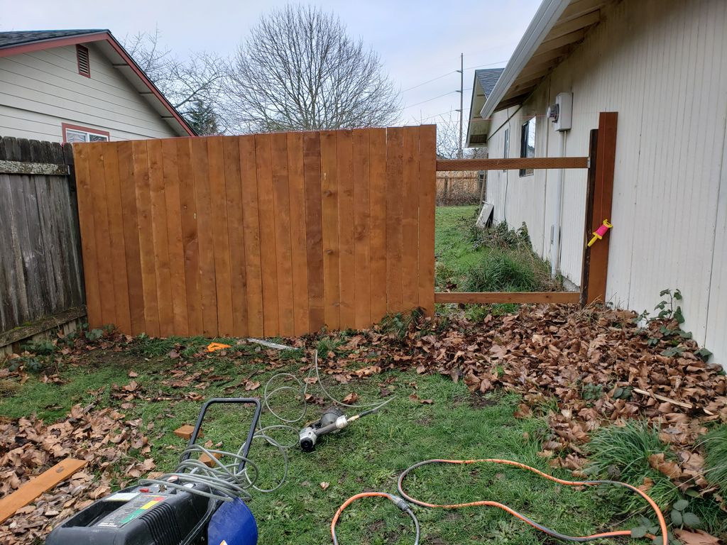 Fence and Gate Installation - Vancouver 2021