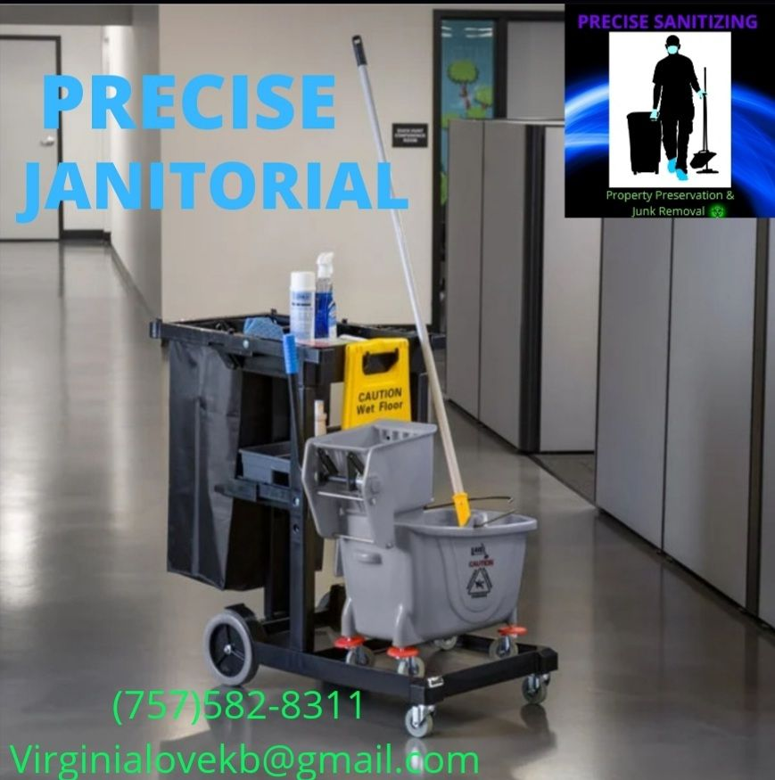 Precise janitorial starting at 90 dollars