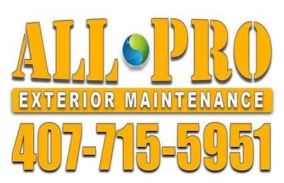 Avatar for All-Pro Exterior Maintenance, Inc