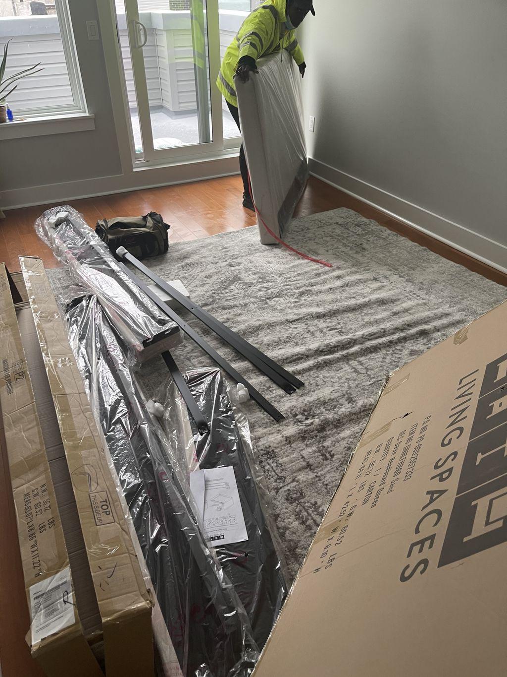 Bed frame Assembly & picture hanging