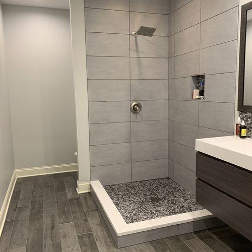 Mass Ave Bathroom Renovation