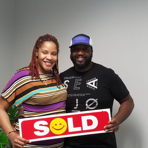 New Home - Excited Buyers!