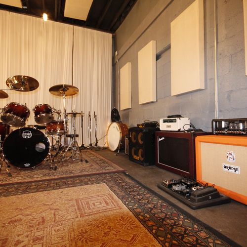 Our live room is perfect for any project.