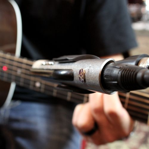 We've got a great inventory of guitars, drums, and microphones.