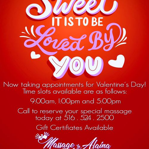 In-home massage for your loved one??? ❤️