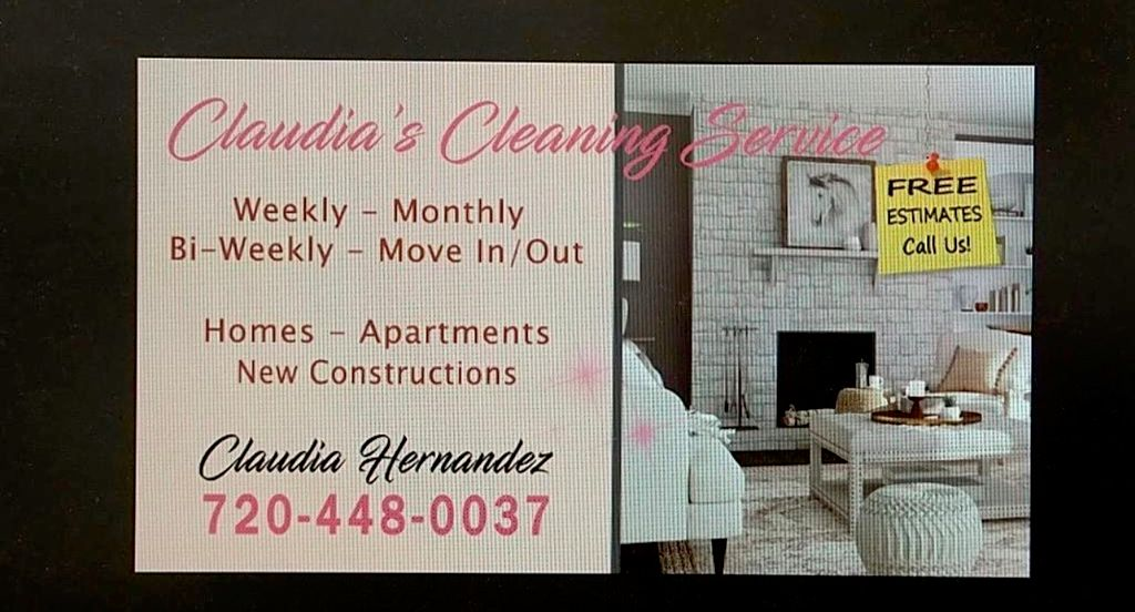 Claudia's Cleaning service