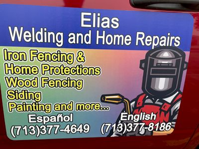 Avatar for Elias welding