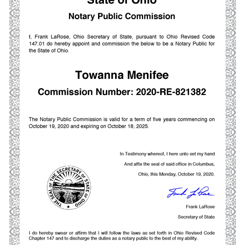 Notary Commission