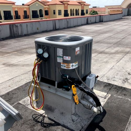 RUUD Roof Top Commercial Unit