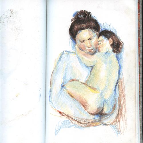 master studies sketchbook