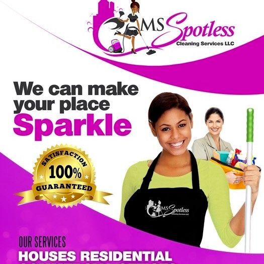 MS Spotless  Cleaning  Services  LLC
