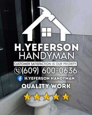 Avatar for H.YEFERSON handyman