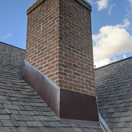 Grove City Ohio Chimney Flashing and Restoration