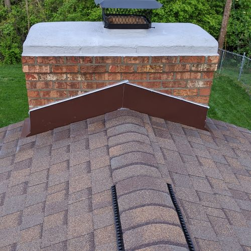 Huber Heights Ohio Roof and Chimney Restoration