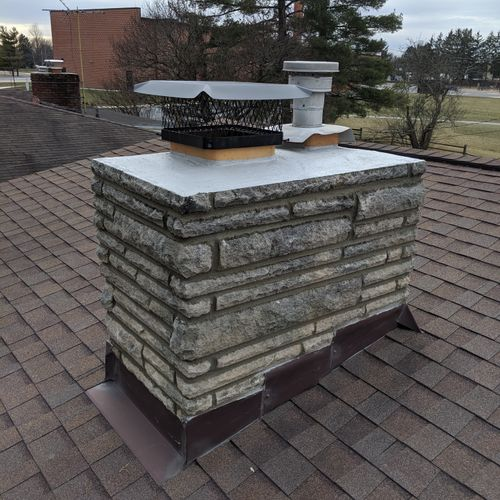 Deleware Ohio Chimney Restoration