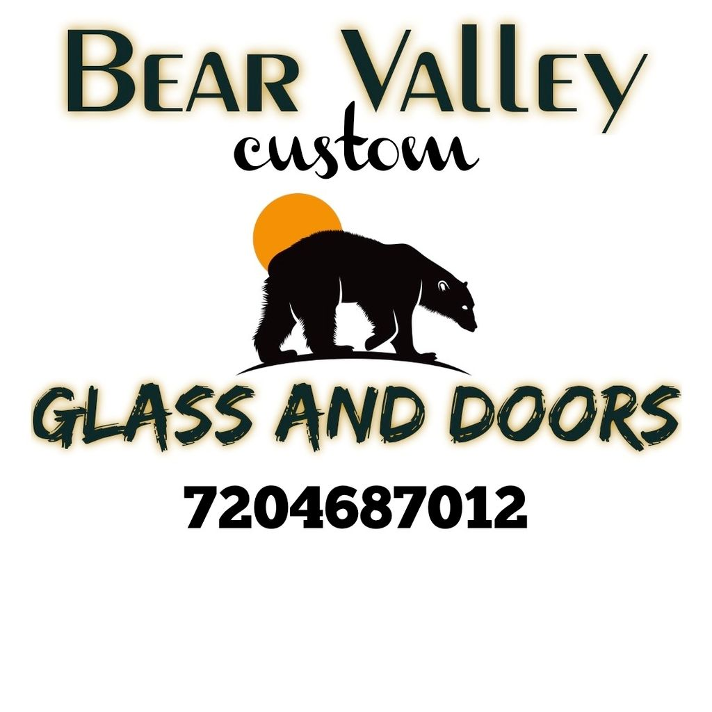Bear Valley custom glass and doors