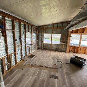 Mobile home with mold Spread all over Full Rermediation process