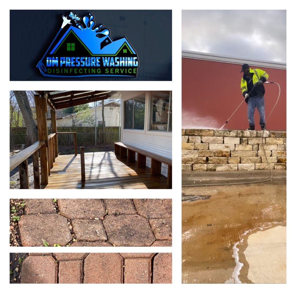 DM Pressure Washing& Exterior cleaning service LLC