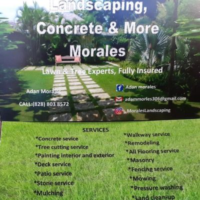 Avatar for Morales landscaping concrete and remodeling