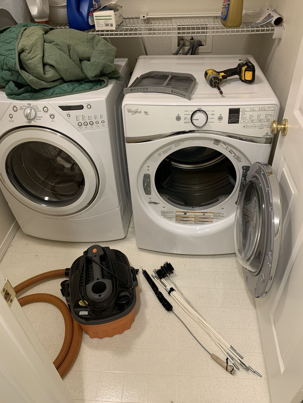 Dryer deep cleaning service