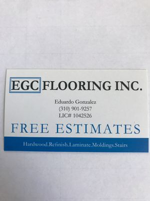 Avatar for EGC FLOORING