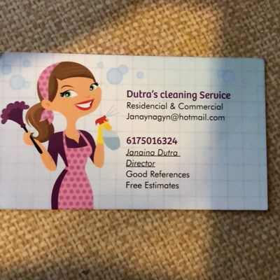 Avatar for Dutra's cleaning