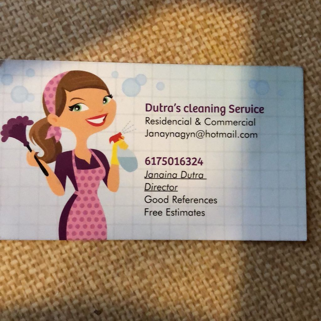 Dutra's cleaning