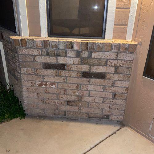 In Wall pet door (Before Installation) Exterior view