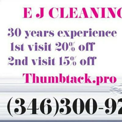 """Avatar for Professional cleaning """" E JCLEANING """""""