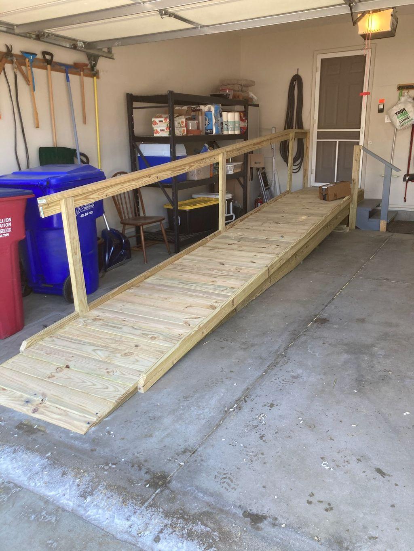 Garage Entry Ramp