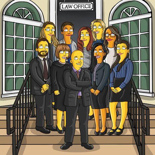 Simpsons Caricature