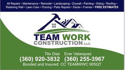 Avatar for Team work construction LLLP