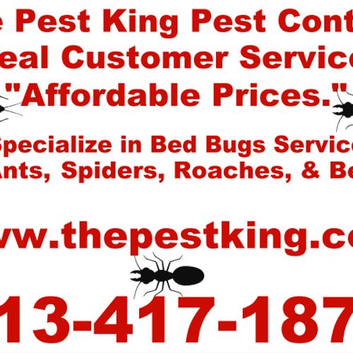 Pest King Yard Sign