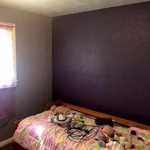 Bedroom color change(after)