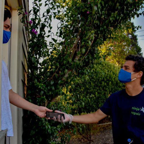 Ninja Repair at your door.