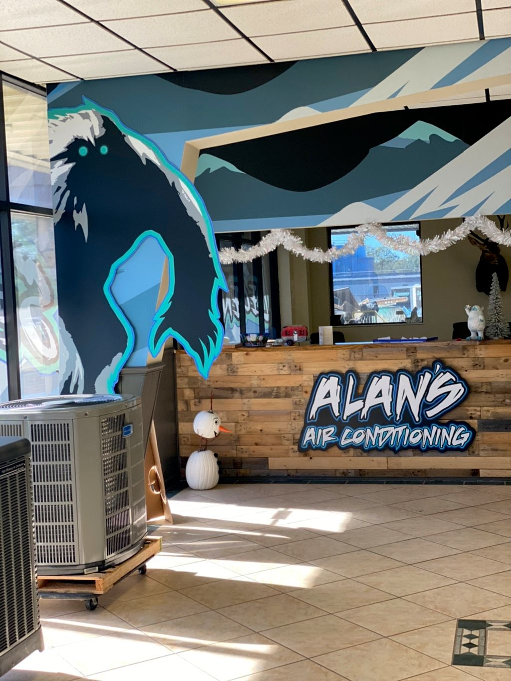 Alan's Air Conditioning serviced