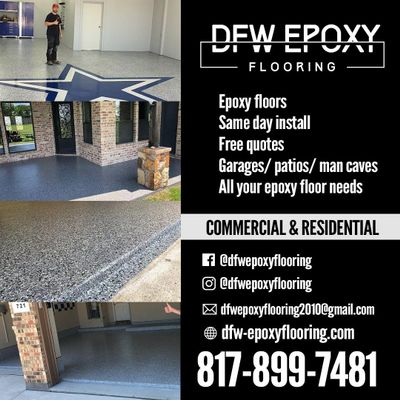 Avatar for DFW Epoxy Flooring