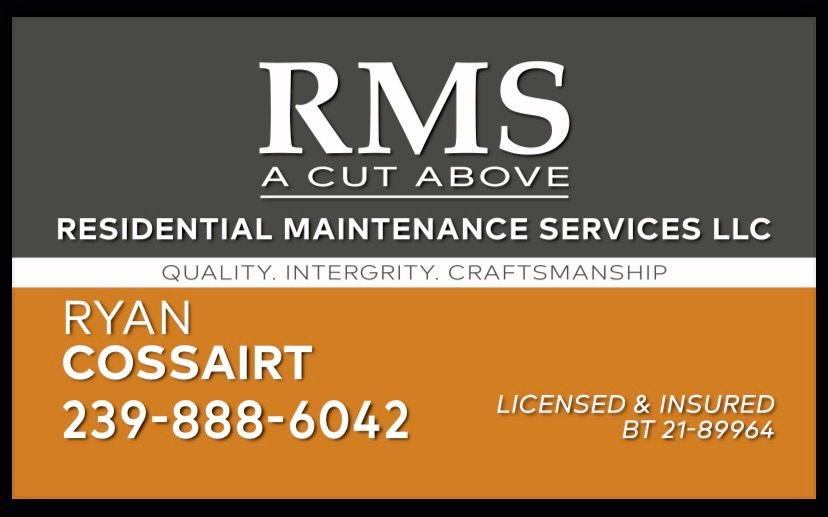 RMS Residential Maintenance Services LLC