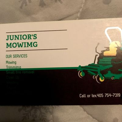Avatar for Junior's mowing